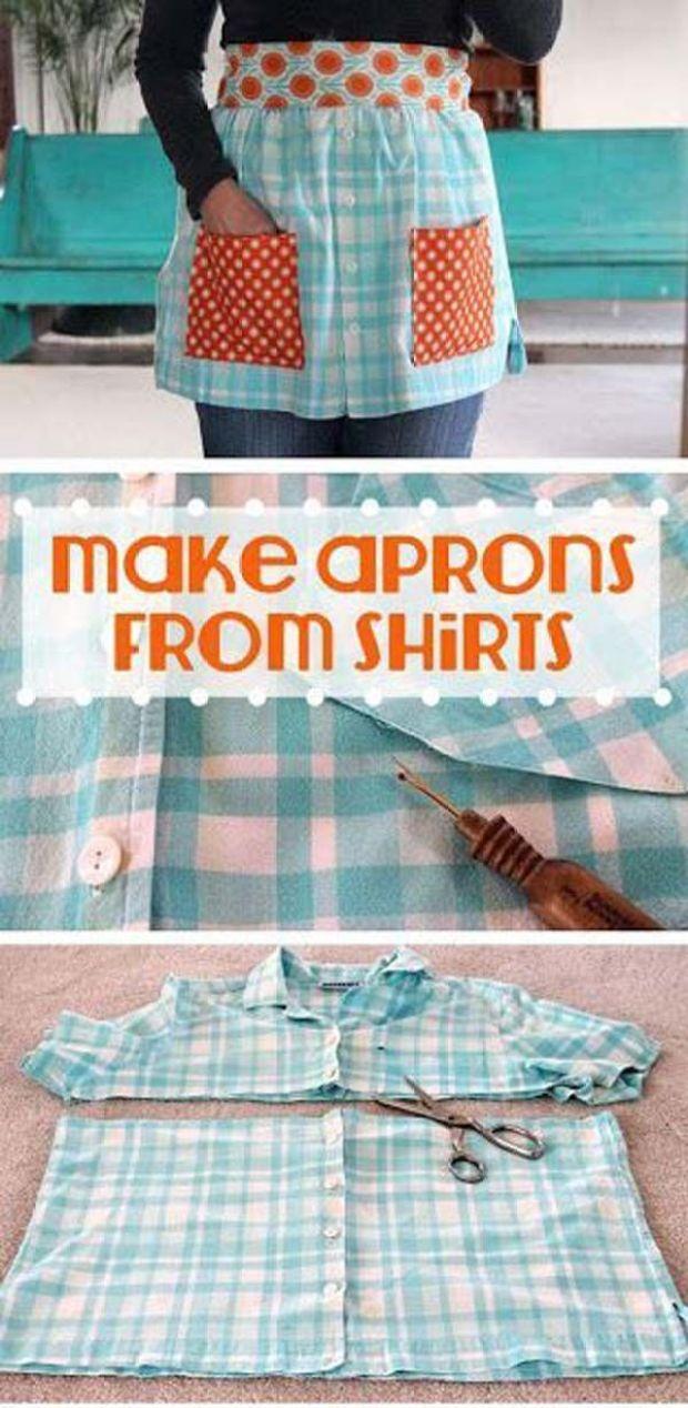 DIY Tutorials to Make Apron