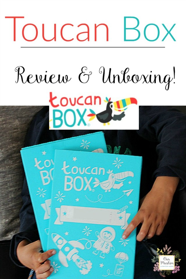 Toucan box craft subscription review unboxing