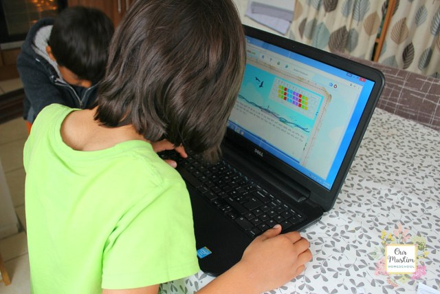 homeschool touch typing