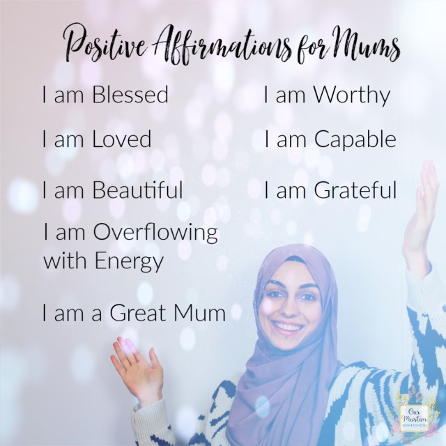 Positive Affirmations for Mums