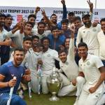 Vidarbha team wins their first Ranji Trophy