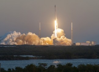 SpaceX launches its largest satellite ever which is nearly the size of a bus