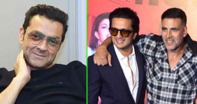 Akshay Kumar and Bobby Deol are reuniting after seven years with Housefull 4
