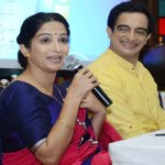 Actors Pankaj Vishnu and Poorva Gokhale