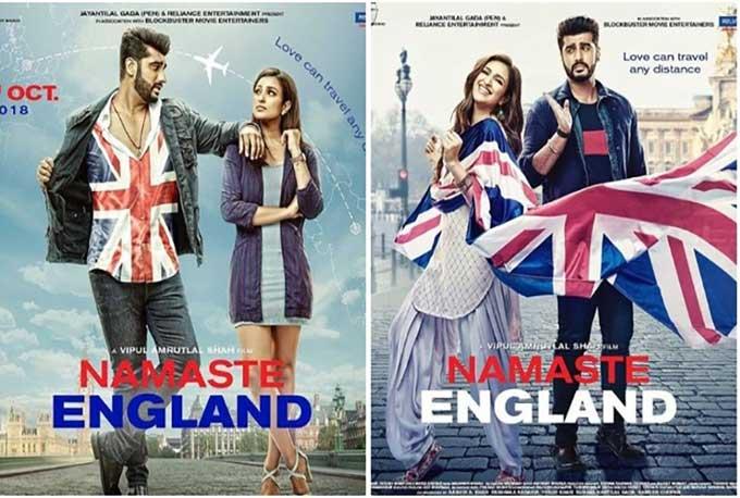 Arjun Kapoor unveils new posters for 'Namaste England'