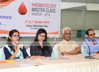 शहर में में 6 अक्टूबर से हेमटॉलॉजी मास्टर क्लास परिषद का आयोजन