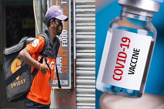 Swiggy Announces Free Covid Vaccination