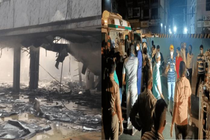 Mumbai: Fire at Covid-19