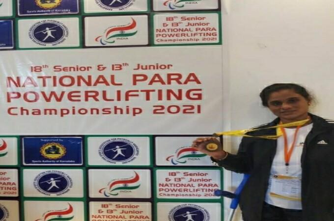 Paralympic Powerlifting:Pratima Bonde bags gold, Roshni Rinke bronze medals