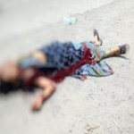भर रस्त्यामध्ये अडवून 35 वर्षीय महिलेची निर्घृण हत्या; दुचाकीचालक गंभीर जखमी