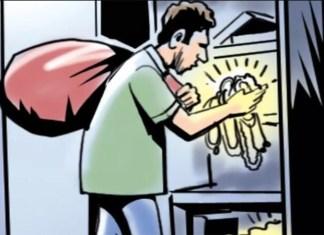 पत्नीला शेवटचे पाहण्यासाठी घरी जाण्यास मालकाने नकार दिल्यामुळे रागात नोकराने केला मोठा कारनामा