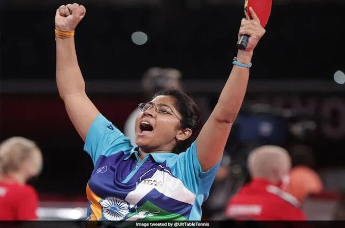 PM Congratulates Paralympian Bhavinaben On Reaching Table Tennis Final