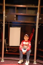 I believe at the time this was then-Nat Adam Dunn's locker