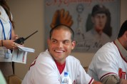 Pudge Rodriguez at NatsFest in 2010