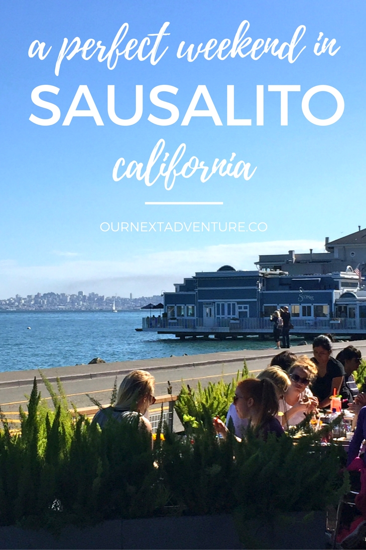 A Perfect Weekend in Sausalito: Where to eat and what to see on this quick San Francisco day trip. // Couples Travel | Marin County Day Trip