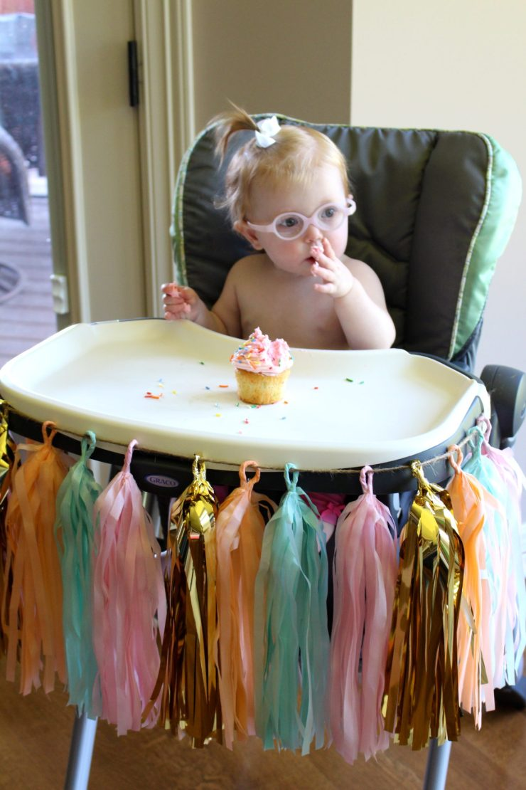 An ice cream themed 1st birthday party. // 1st Birthday | Sundae Party | Ice Cream Shoppe