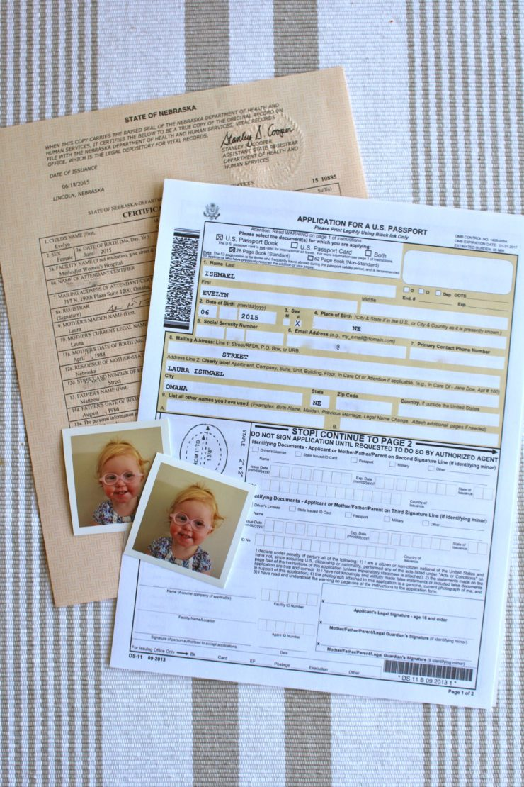 A Quick Guide to Baby's First Passport | ournextadventure.co