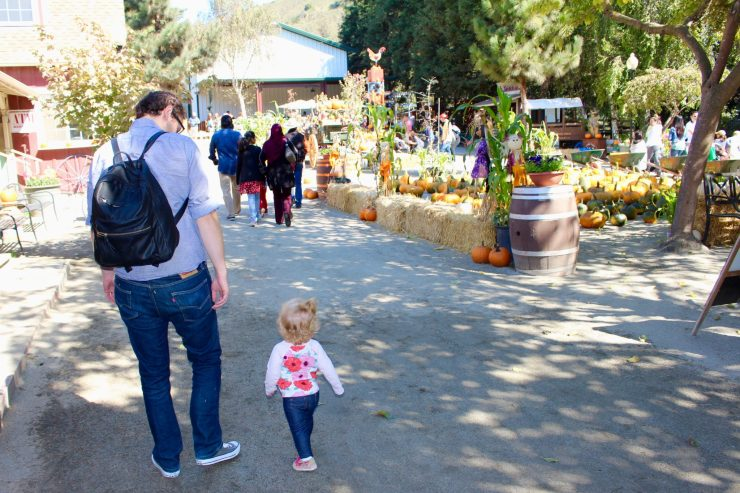 Fall Fun at Lemos Farm in Half Moon Bay, CA, a quick day trip from the San Francisco Bay Area. #sanfrancisco #california #familytravel // Family Travel | Travel with Kids | San Francisco Day Trip | Bay Area Weekends | Pumpkin Patch | Beach Cities | US Travel | USA | United States | Northern California | PCH Road Trip | Family Friendly Things to Do