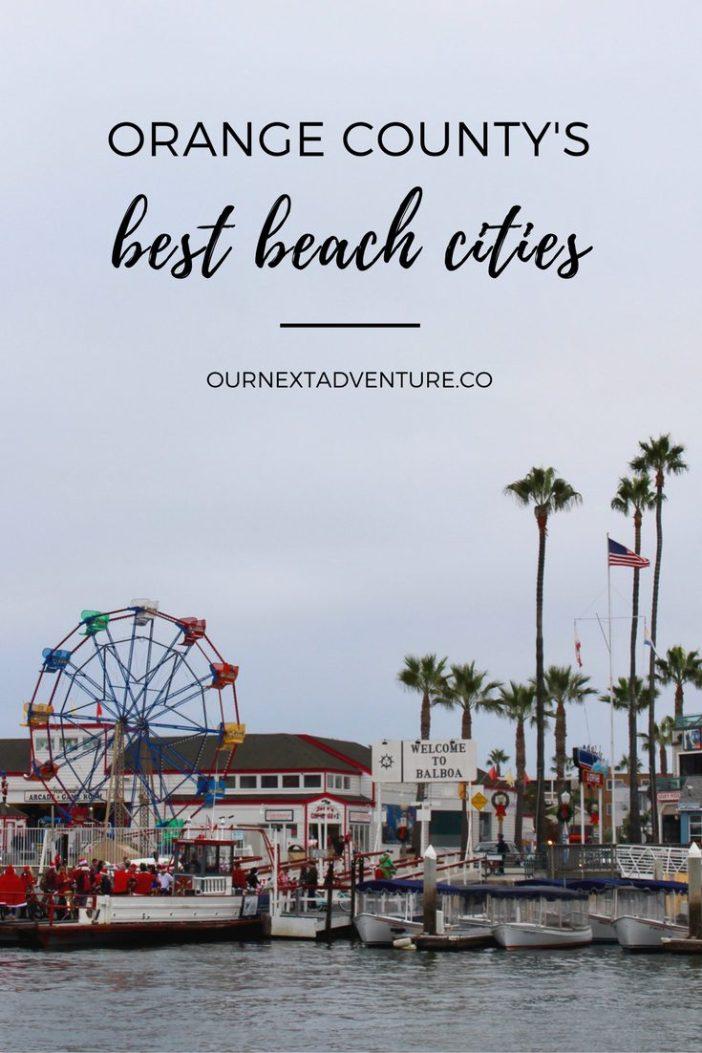 The OC's favorite beach cities: Laguna, Newport, and Huntington Beach. #oc #california #familytravel // Family Vacation | California Travel | Disneyland Trip