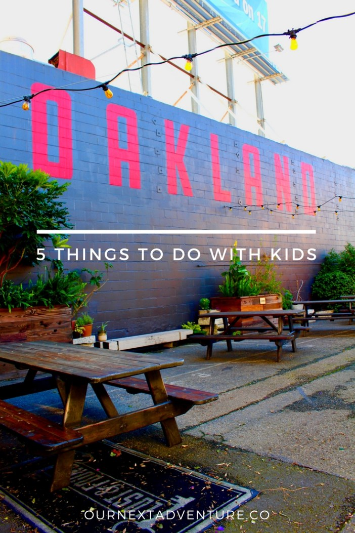 5 Alternative Things to Do in Oakland with Kids. #oakland #california #familytravel // Family Travel | Travel with Kids | San Francisco Day Trip | Bay Area Finds | Offbeat Itinerary | Local Travel | Unique Things to Do | Hipster Guide | California Road Trip