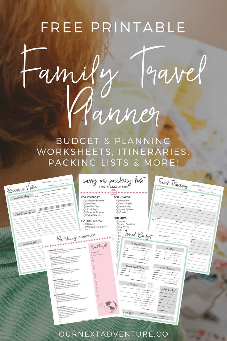 step by step guide to planning the perfect family trip our next