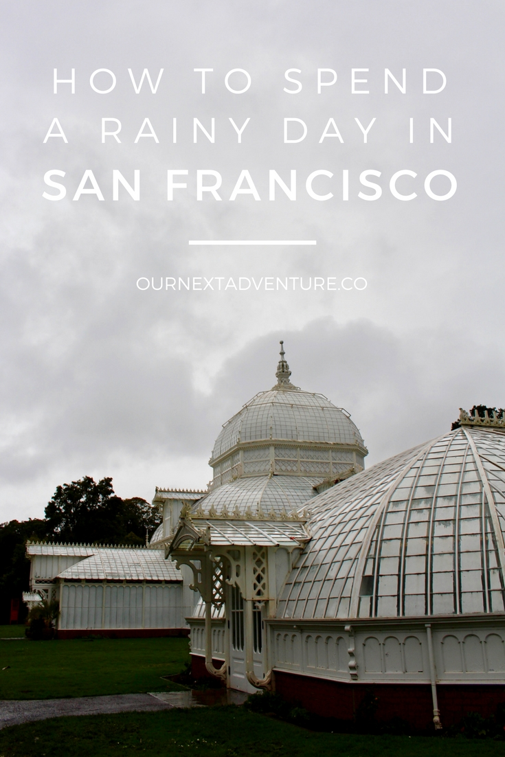 What to do in San Francisco when rainy weather ruins your day. // Family Travel | Travel with Kids | Bay Area Trips