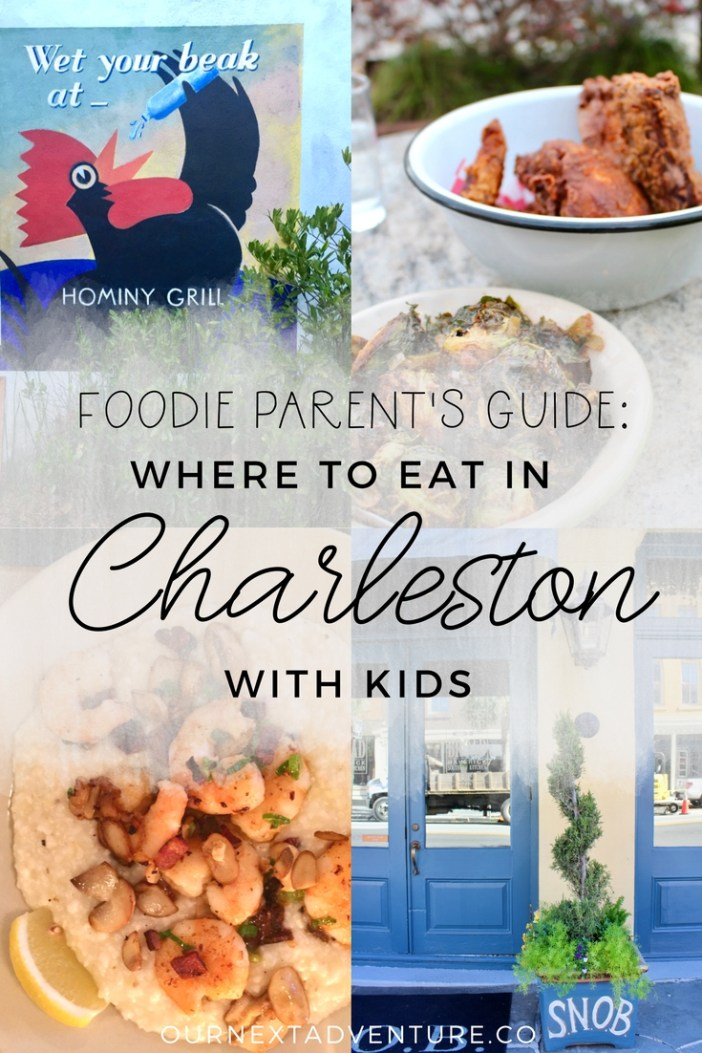 A foodie parent's guide to where to eat in Charleston (that's kid-friendly too!) // Family Travel | Travel with Kids | Southern USA | South Carolina | Foodies | Restaurant Recommendations | Southern Food