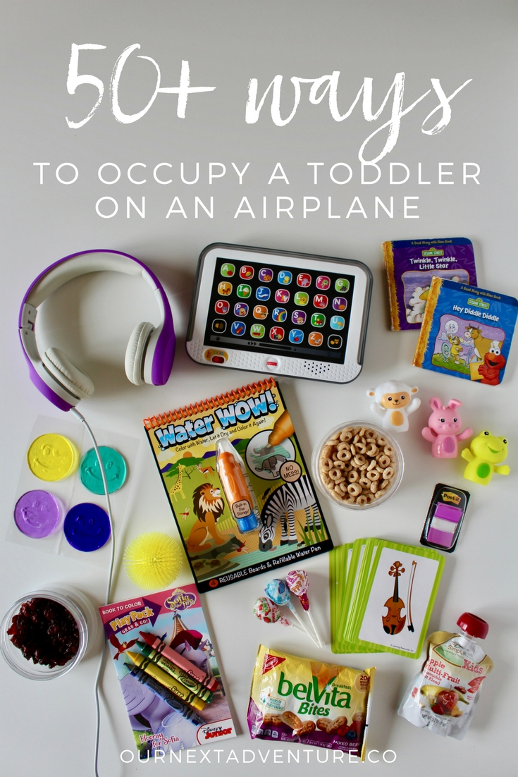 Top Travel Toys Games For Kids : Ways to occupy a toddler on an airplane our next