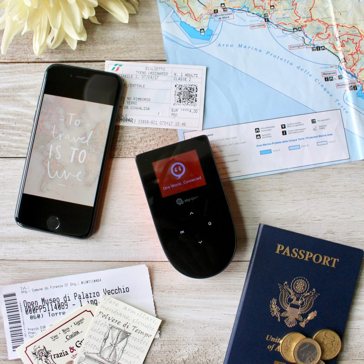 International wi-fi coverage has never been easier, thanks to the Skyroam Global Hotspot...a must-have travel essential! // Family Travel | What to Pack | Internet Abroad | Travel with Kids