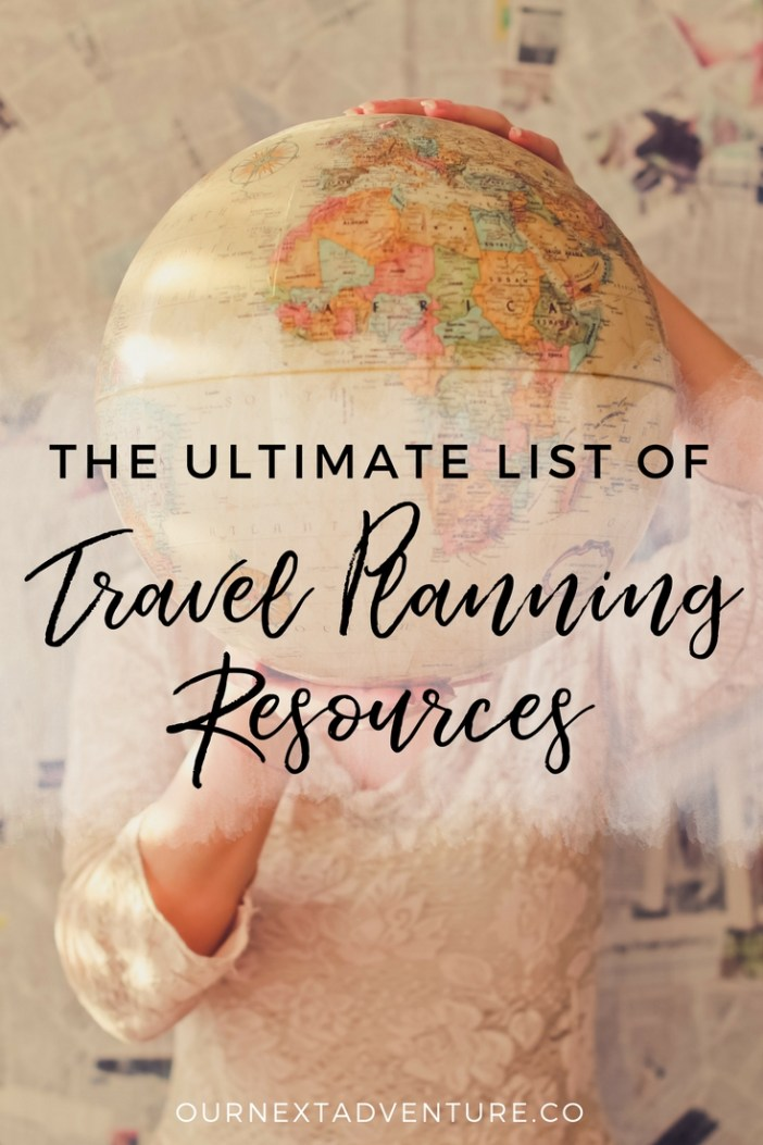 A complete list of online travel planning resources for deals on flights, hotels, vacation rentals, alternative accommodations, transportation, travel insurance and more. #familytravel #wanderlust // Family Travel | Travel with Kids | Vacation Planning | Worldschooling | Cheap Flights | Travel Deals | Where to Stay | How to Plan