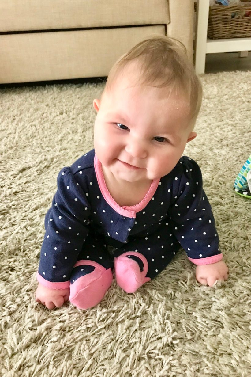 Sophie Update: we've reached the 6 month holoprosencephaly milestone!