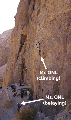 Our Next Life rockclimbing