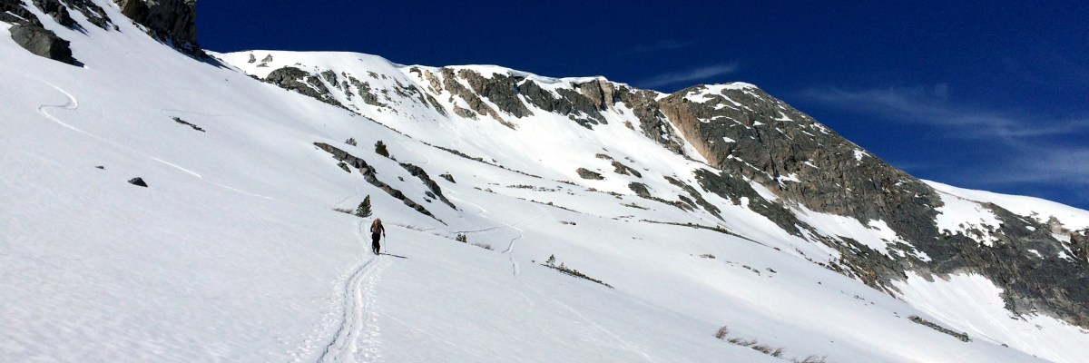 Backcountry Skiing header photo on OurNextLife.com // Actually getting out to ski is something we wish we did more of, regardless of what our Instagram feed may suggest!