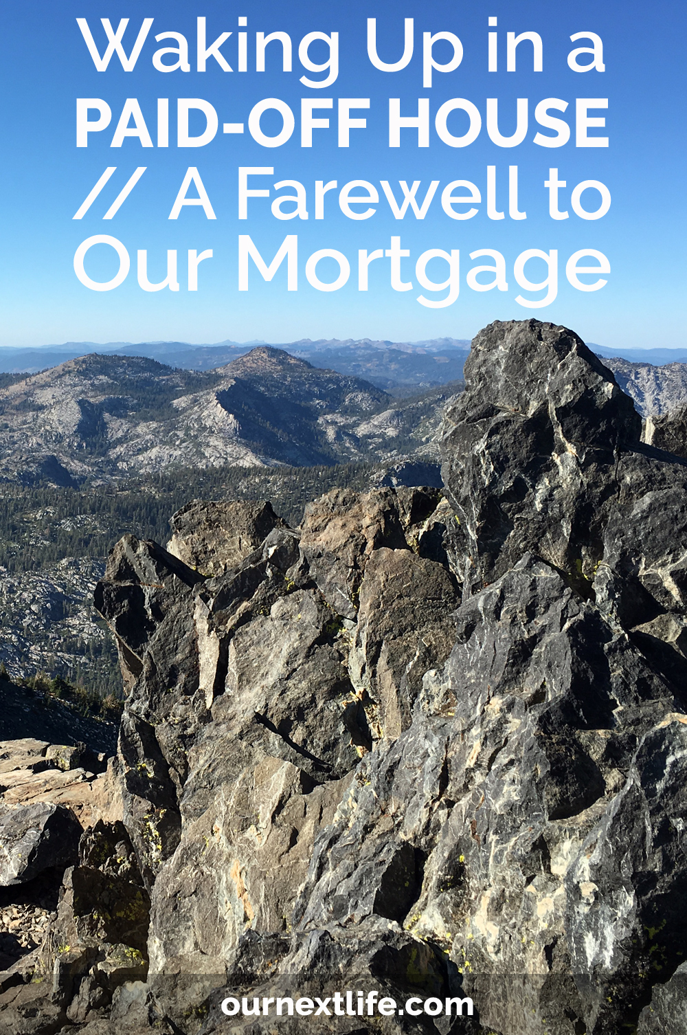 Waking Up in a Paid-Off House // A Farewell to Our Mortgage -- We just paid off our house! Here's why we did it and what it means for our early retirement plan moving forward!