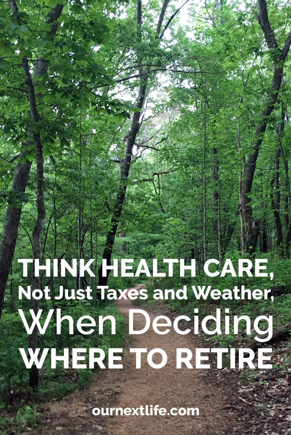 Think Health Care, Not Just Taxes and Weather, When Deciding Where to Retire // Best states to retire to, states with best health care, best states for retirement health care, best states for health insurance