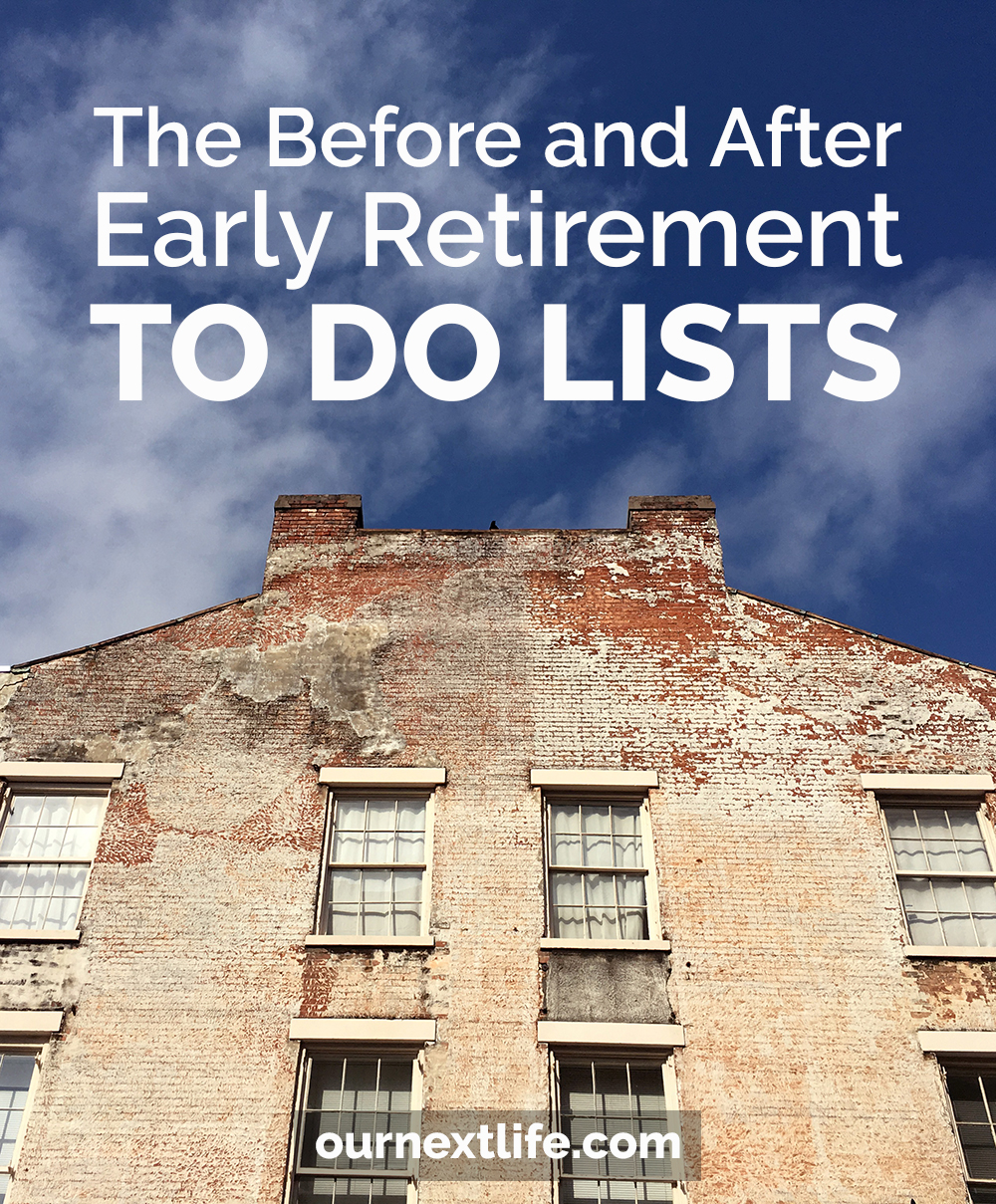 Pre-Early Retirement To Do List // What To Do Before and After You Retire Early