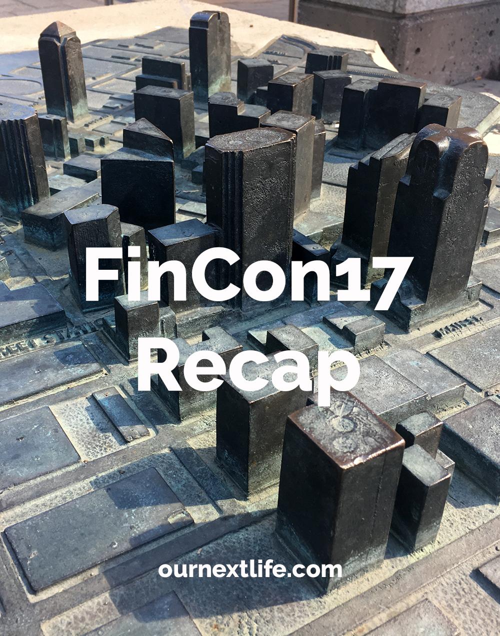 FinCon17 recap, FinCon Expo, Financial Bloggers Conference, Our Next Life, ournextlife.com