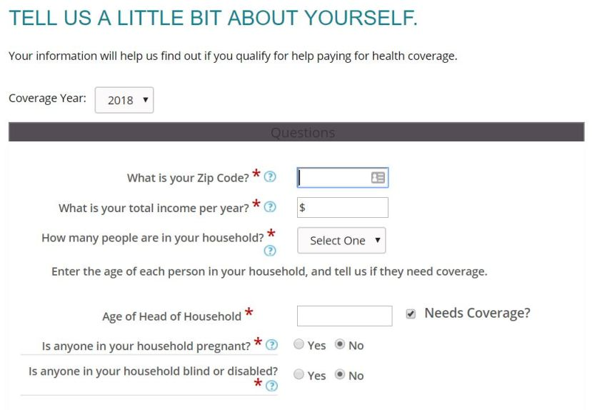 Signing Up For Aca Obamacare Health Insurance For Early Retirement