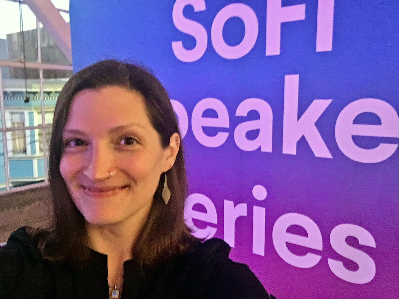 Tanja Hester of Our Next Life at SoFi Speaker Series in San Francisco