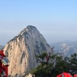 Climbing Mt Hua