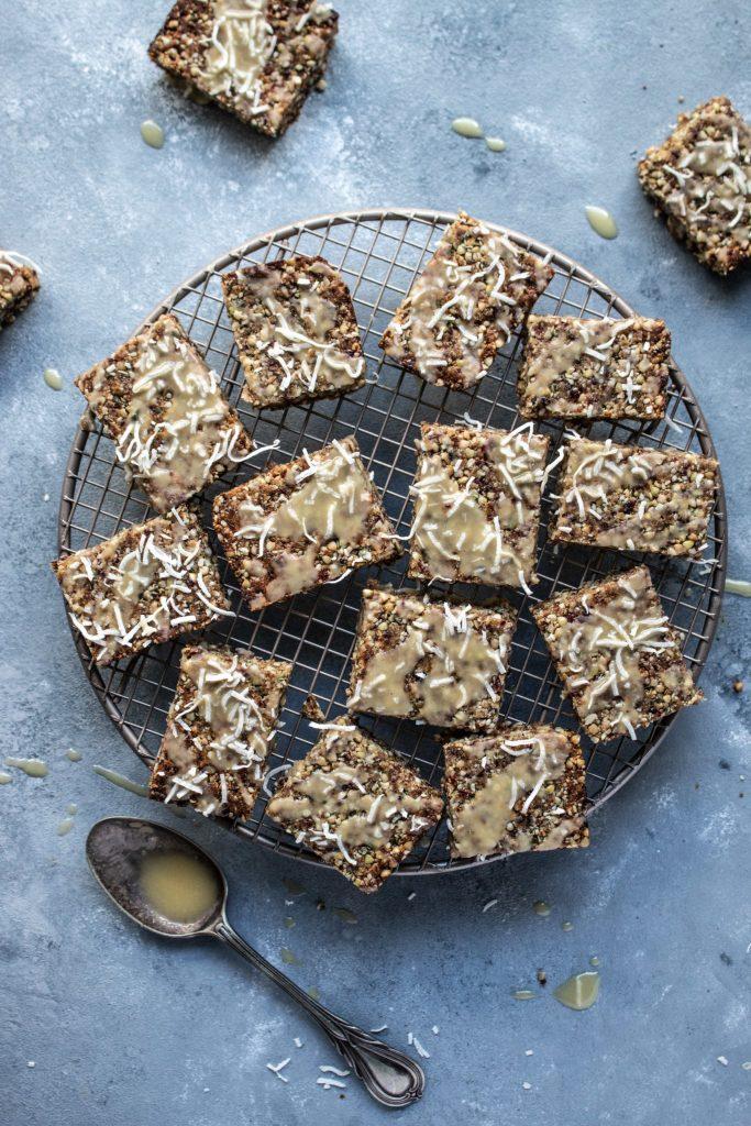 gluten free muesli slice, gluten free slice, granola bars, nut free, school snacks, kindy friendly slice, slice recipe