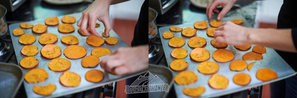 Sweet Potato Nachos | Our One Chance