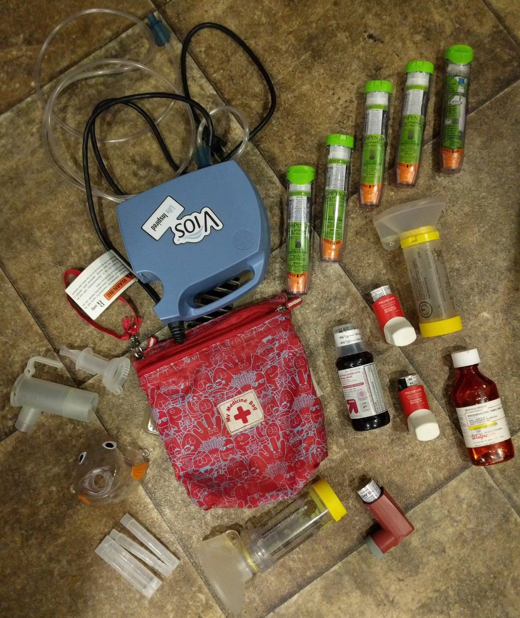 Asthma and Allergy Kit