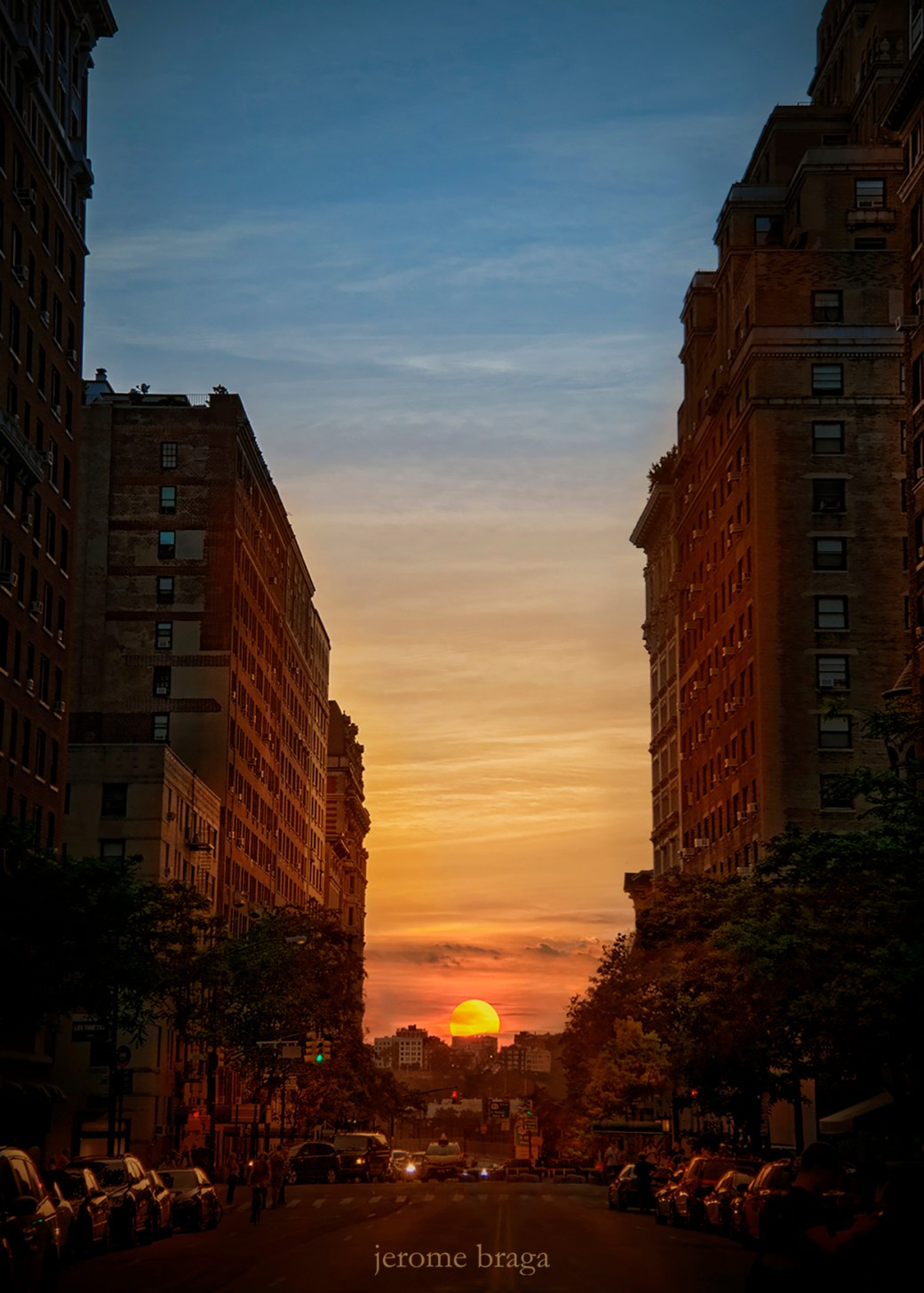 Manhattanhenge Wallpaper