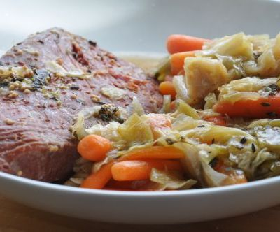 Crockpot Recipes – Corned Beef and Cabbage