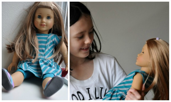 mckenna american girl doll 6 year old with