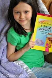 kaila american girl books liking herself
