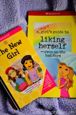 american girl books liking herself the new girl