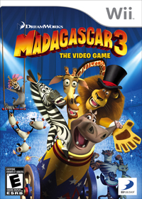 Madagascar 3 the video game Nintendo Wii Game