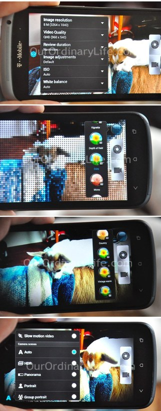 HTC One S Picture Features